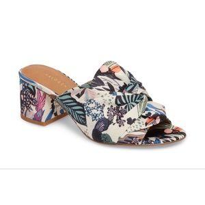 Halogen floral print sandals